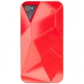 Case-Mate Facets Case Red for iPhone 4, 4S (CM015396)