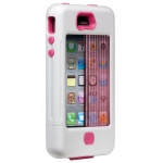 Case-Mate TANK Case White&Pink for iPhone 4, 4S (CM016805)