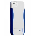 Case-Mate Pop Case White&Blue for iPhone 5, 5S (CM022382)
