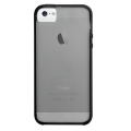 Case-Mate Haze Case for iPhone 5, 5S, Grey&Black (CM022488)