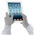 Cellularline Gloves for Touch Screen, L/XL - Grey (TOUCHGLOVESLXLG)
