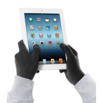 Cellularline Gloves for Touch Screen, S/M - Black (TOUCHGLOVESSMBK)