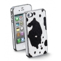 Cellularline Animalier Cover for iPhone 4, 4S - Cow (ANIMALIERIPHONE4S5)