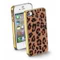 Cellularline Animalier Cover for iPhone 4, 4S - Leopard (ANIMALIERIPHONE4S3)
