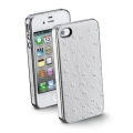 Cellularline Animalier Cover for iPhone 4, 4S - Ostrich (ANIMALIERIPHONE4S2)