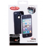 Cellularline Carbon Skin for iPhone 4, 4S (CARBONSKINIPHONE4)