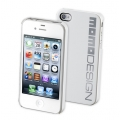 Cellularline MOMO Cover for iPhone 4, 4S - White (MOMOHCIPHONE4SW)