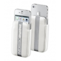 Cellularline MOMO Racing Hard Sleeve iPhone 4, 4S - White (MOMOHSLIPHONE4SW)