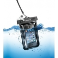 Cellularline Waterproof Voyager Case for iPhone & iPod, Black (VOYAGERCCBK)