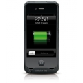 Cellularline Power Case for iPhone 4, 4S - Black (EXTRAPWCIPHONE4)