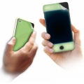 Cellularline Fluo Skin for iPhone 4, 4S - Fluorescent (FLUOIPH4)