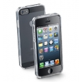 Cellularline Invisible Case for iPhone 5, 5S - Transparent (INVISIBLECIPHONE5)