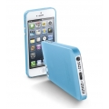 "Cellularline Ultra-Slim Transparent Cover ""035"" for iPhone 5, 5S - Blue (035IPHONE5B)"