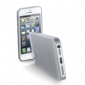 "Cellularline Ultra-Slim Transparent Cover ""035"" for iPhone 5, 5S - Dark Grey (035IPHONE5DG)"