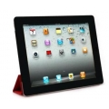 Colorant Color Screen Protector for iPad 4, 3, 2 - Black (4008)