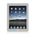 Colorant Color Screen Protector for iPad 4, 3, 2 - Silver (4012)