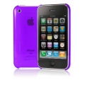 Cygnett Neon Fluoro Tint Slim Case Purple for iPhone 3G/3GS (CY0003CPNEO)