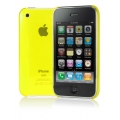 Cygnett Neon Fluoro Tint Slim Case Yellow for iPhone 3G/3GS (CY0004CPNEO)