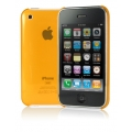 Cygnett Neon Fluoro Tint Slim Case Orange for iPhone 3G/3GS (CY0005CPNEO)