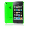 Cygnett Neon Fluoro Tint Slim Case Green for iPhone 3G/3GS (CY0006CPNEO)