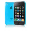 Cygnett Neon Fluoro Tint Slim Case Blue for iPhone 3G/3GS (CY0007CPNEO)