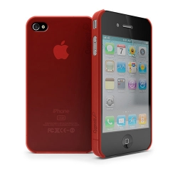Cygnett Frost Matte Slim Case Red for iPhone 4 (CY0081CPFRO)