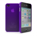 Cygnett Frost Matte Slim Case Purple for iPhone 4 (CY0083CPFRO)