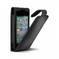 Cygnett Lavish Ultra-Soft Leather Case Black for iPhone 4 (CY0088CPLAV)