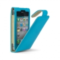 Cygnett Lavish Ultra-Soft Leather Case Turquoise for iPhone 4 (CY0091CPLAV)