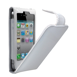 Cygnett Glam Patent Leather Case White for iPhone 4, 4S (CY0094CPGLA)