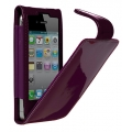 Cygnett Glam Patent Leather Case Purple for iPhone 4, 4S (CY0095CPGLA)