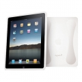 SecondSkin Soft Silicone Case Clear for iPad (CY0039CISKI) with screen protector
