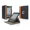 Cygnett Rotating Armour Case Stand Black/Orange for iPad 2 (CY0385CIROT)