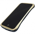 DRACO Design Elegance Aluminium Bumper for iPhone 5, 5S - Gold&Blue (DR50A6-GBU)