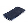 DRACO Design Vogue Skin Guard for iPhone 5, 5S - Navy Blue (DRPIP50-LBU)