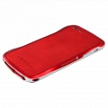 DRACO Design Vogue Skin Guard for iPhone 5, 5S - Red (DRPIP50-LRD)
