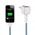 Dexim Wall Charger for iPad`s, iPhone 3G/S, 4/S, iPod`s, White (DCA256C-W)