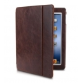 Dexim Leather Case for iPad 4, iPad 3, iPad 2 - Vintage Brown (DLA218-N)