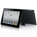Dexim Hard Case with Stand for iPad 2, Black Matte (DLA196-M)