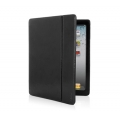 Dexim Leather Case for iPad 4, iPad 3, iPad 2 - Black (DLA 218-BP)