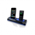 Dexim Dual Dock Charger Black for iPhone, iPod (DCA037-B)