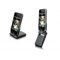 Dexim P-Flip Foldable Power Dock Matte Black for iPhone, iPod Touch (DCA132-M)