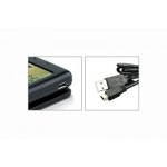 Dexim P-Flip™ Foldable Solar Power Black for iPhone 3G/S, 4, 4S (DCA223-G)