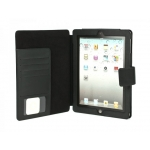 Dexim ECO Leather Case for iPad 4, iPad 3, iPad 2 - Black (DLA216-B)