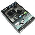 Dexim Travel Wall Charger for iPhone 3G/S, 4/S, iPod`s, Black (DPA010-B)