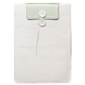 "Dublon Leatherworks Shelter Case White/Kiwi for Macbook Air 11"" 2010/11 (SH-AIR-11-WH/KW)"