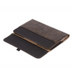 "Dublon Leatherworks Transformer Case Olive Croco for MacBook Air 13"" 2010/11"