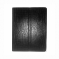 Dublon Leatherworks Multi Functional Case Black Croco for iPad 2 (MFC-ID2-BC)