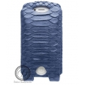 Dublon Leatherworks Leather Case Pantera Python Blue for iPhone 4, 4S (LC-0122)