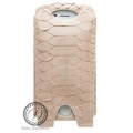 Dublon Leatherworks Leather Case Pantera Python Pink for iPhone 4, 4S (LC-0072)